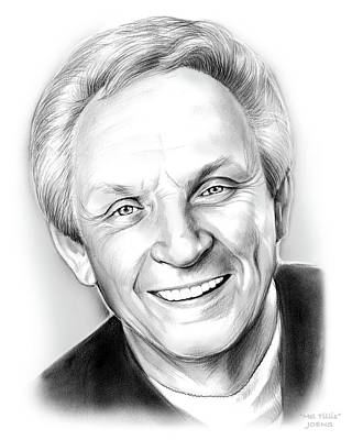 Singer Drawing - Mel Tillis by Greg Joens