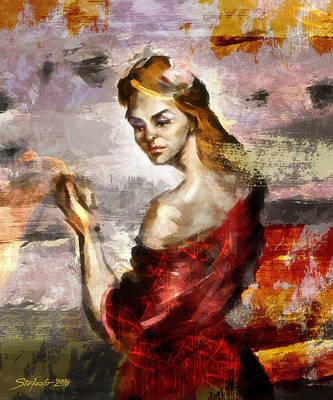 Painting - Melancholia II by Stefano Popovski