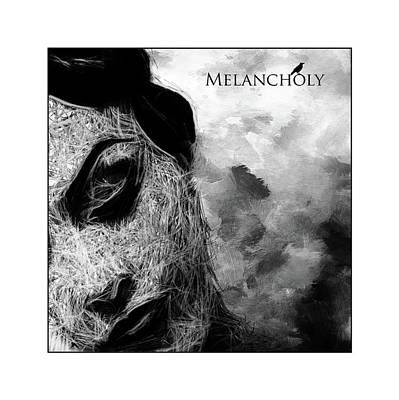 Melancholia Wall Art - Painting - Melancholia by Steve K