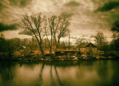 Photograph - Melancholy Sunset by Yevgeniy Brb