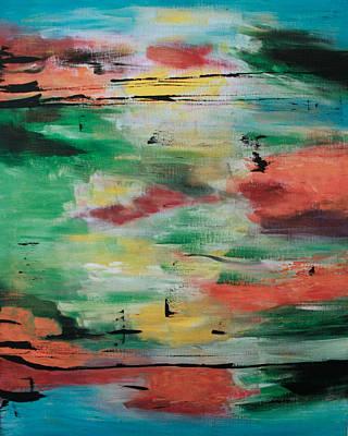 Painting - Melange De Couleur.... by Renate Dartois