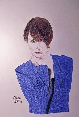 Georgetown Drawing - Melanie Number 9 by Donna Wilson