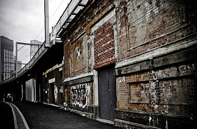 Australia Photograph - Melbourne Alley by Kelly Jade King