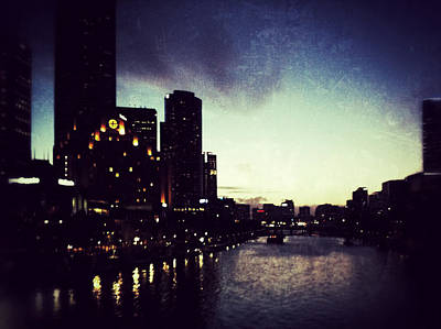 City Scenes Royalty-Free and Rights-Managed Images - Melbourne Australia by Sarah Coppola