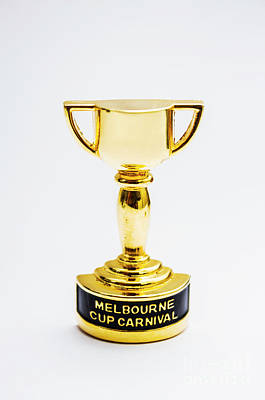 Melbourne Cup Horse Race Trophy Print by Jorgo Photography - Wall Art Gallery