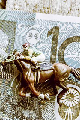 Racehorse Photograph - Melbourne Cup Wager by Jorgo Photography - Wall Art Gallery