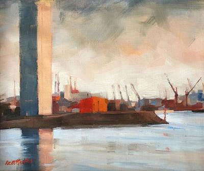 Melbourne Docklands Art Print