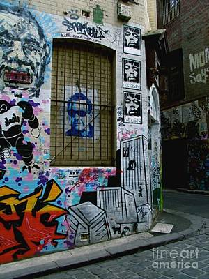 Art Print featuring the photograph Melbourne Graffiti I by Louise Fahy