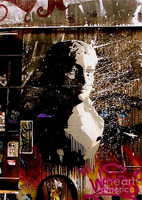 Art Print featuring the photograph Melbourne Graffiti IIi by Louise Fahy