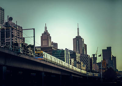 Photograph - Melbourne Morning I by Nisah Cheatham