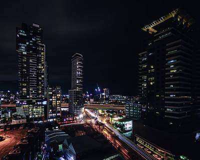 Photograph - Melbourne Night by Nisah Cheatham