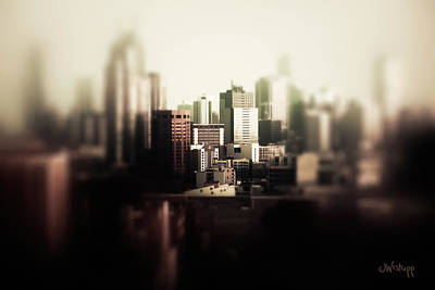 Photograph - Melbourne Towers by Joseph Westrupp