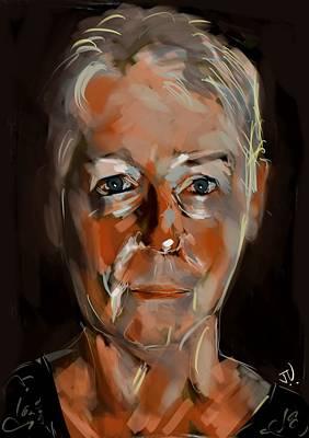 Digital Art - Melinda by Jim Vance