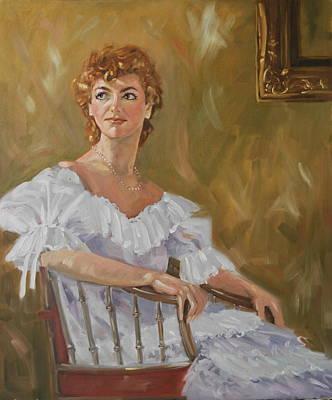 Painting - Melinda by Len Stomski