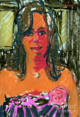 Painting - Melissa by Candace Lovely