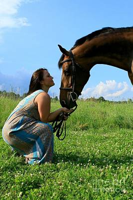 Photograph - Melissa-millie40 by Life With Horses