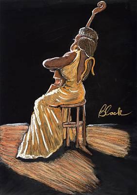 Mello As A Cello I Original by Charlie Black