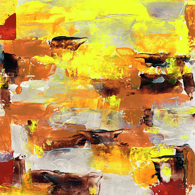 Painting - Mello Yellow by Daniel Ferguson