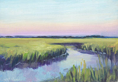 Painting - Mellow Marsh  by Michel McNinch