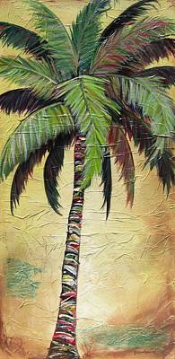 Painting - Mellow Palm I by Kristen Abrahamson
