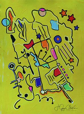 Painting - Mellow Yellow 2 by Jo-Anne Gazo-McKim