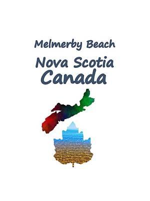 Province Mixed Media - Melmerby Beach Nova Scotia Canada by Kathleen Sartoris