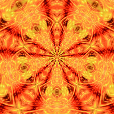 Orange Crush Digital Art - Melodize by Tom Druin