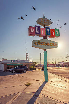 Melody Cleaners Art Print by Wayne Stadler