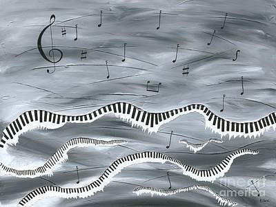 Painting - Melody by Kenneth Clarke