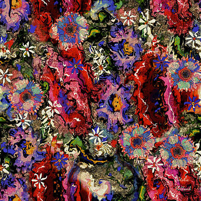 Painting - Melody Of Beauty Bouquet by Natalie Holland