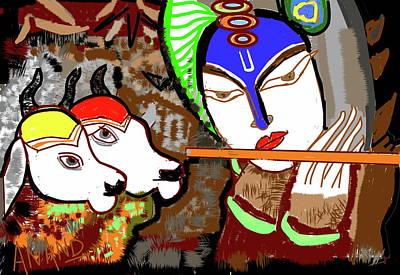Digital Art - Melody Of Music by Anand Swaroop Manchiraju
