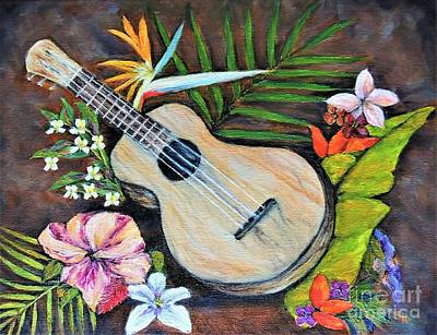 Painting - Melody  by Stephanie Callsen
