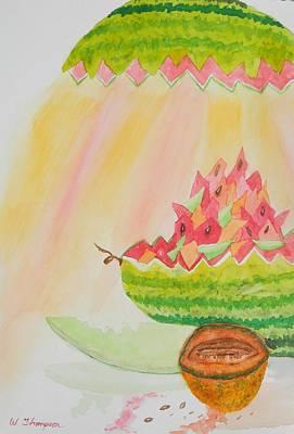 Melon Head Bar And Grill Original by Warren Thompson