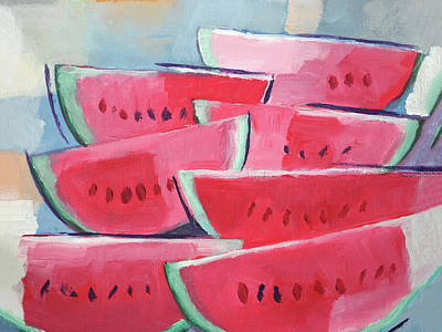 Painting - Melons X L by Lutz Baar