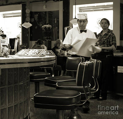Photograph - Mel's Diner by Cheryl Del Toro