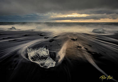 Photograph - Melted At Dawn by Rikk Flohr