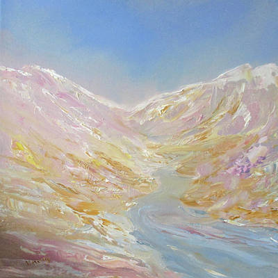 Painting - Melting Glaciers By V.kelly by Valerie Anne Kelly