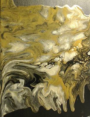 Liquid Gold Art Print