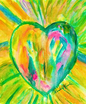 Painting - Melting Heart by Kendall Kessler