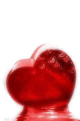 Valentines Day Digital Art - Melting Heart by Linda Sannuti