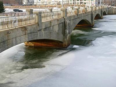 Photograph - Melting Ice by Ellen Paull