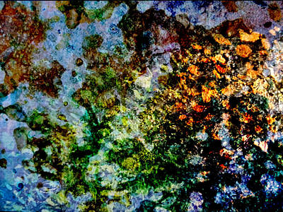 Abstract Movement Mixed Media - Melting II by Emir Salkic