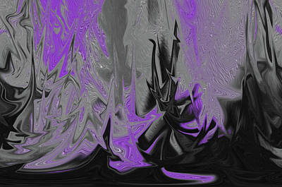 Digital Art - Melting Paint by Michelle McPhillips