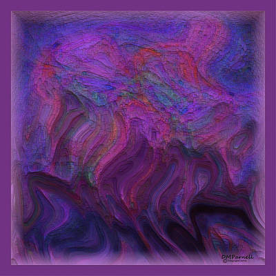 Melting Pastels Art Print