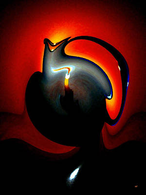 Pitcher Digital Art - Melting Point by Will Borden