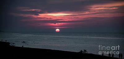 Photograph - Melting Sun by Bianca Nadeau