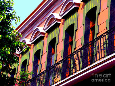 Melville Balcony By Darian Day Art Print by Mexicolors Art Photography
