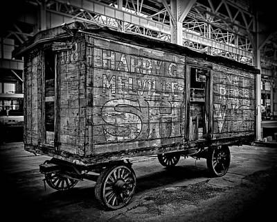 Photograph - Melville Reis Show Wagon by Alan Raasch