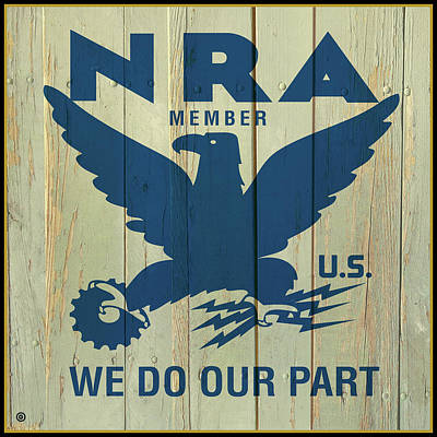 Painting - Member Nra by Gary Grayson