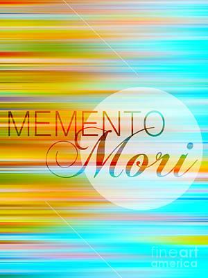 Memento Mori Print by Horacio Martinez